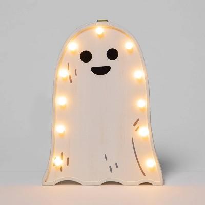 Ghost Bulb Light Halloween Decorative Prop - Hyde & EEK! Boutique™