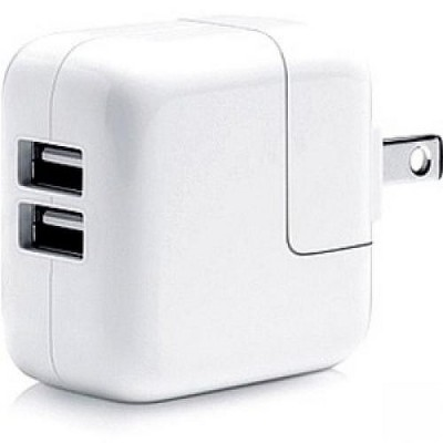 Comprehensive Dual USB Wall Charger 2.1A/12 Watt - 120 V AC Input - 5 V DC/2.10 A Output