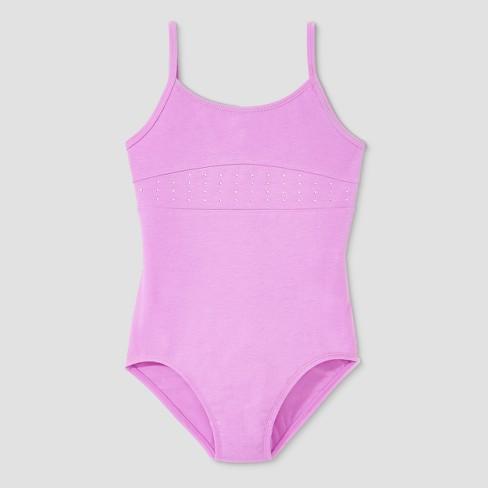 04cc15128 Freestyle By Danskin Girls  Cami Leotard - Lavender   Target