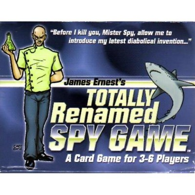 James Ernest's Totally Renamed Spy Game Board Game