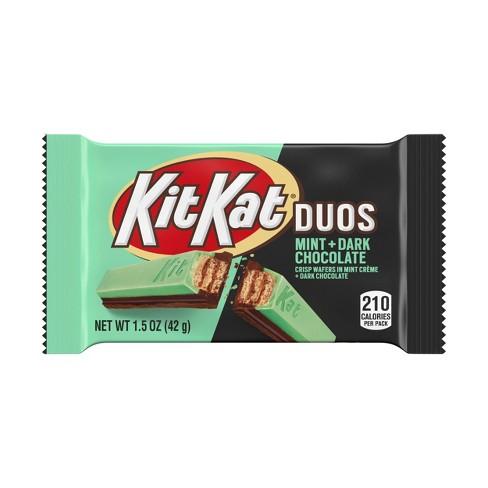 Kit Kat Duo Dark Chocolate Mint Chocolate Bar - 1.5oz - image 1 of 4