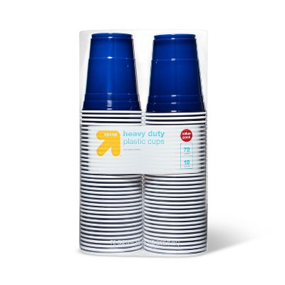 Blue Disposable Plastic Cups - 72ct - up & up™