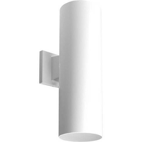 Progress Lighting P5642 Led Cylinder Outdoor Wall Sconce Up Down Light 18 X 6