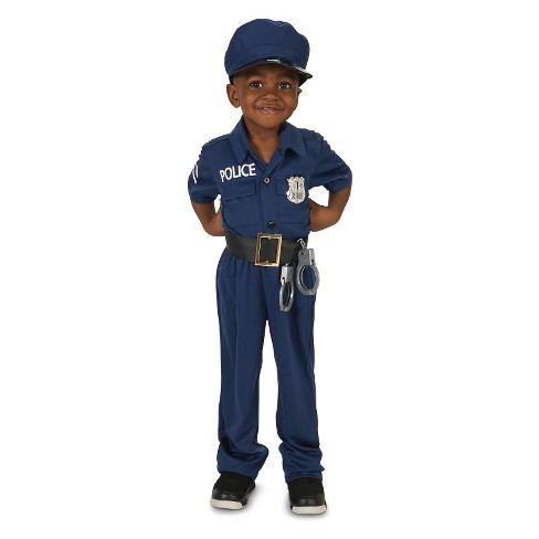 Police Officer Toddler Costume 2-4T - image 1 of 4