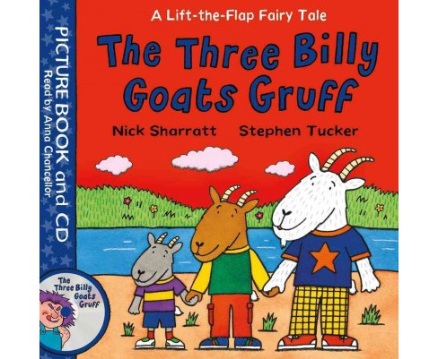 Three Billy Goats Gruff (Paperback) (Stephen Tucker) - image 1 of 1