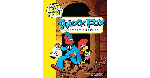 Slylock Fox Mystery Puzzles (Paperback) (Jr. Bob Weber) - image 1 of 1