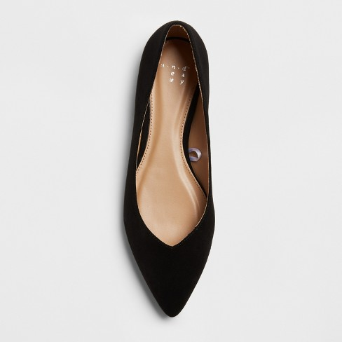 16395e0f8 Women's Hillary Pointed Toe Ballet Flats - A New Day™ : Target