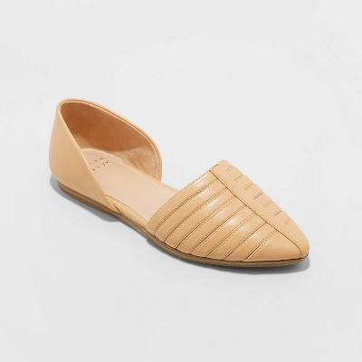 Women's Iris Two Piece Ballet Flats - A New Day™