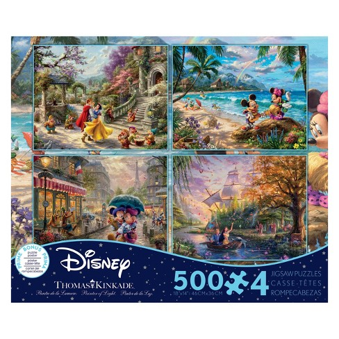 Ceaco Disney Thomas Kinkade: 4pk Puzzle 2000pc - image 1 of 1
