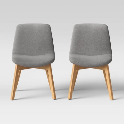 Set of 2 Dixon Wood Leg Dining Chairs - Project 62™