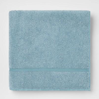 Performance Texture Bath Sheet Aqua - Threshold™