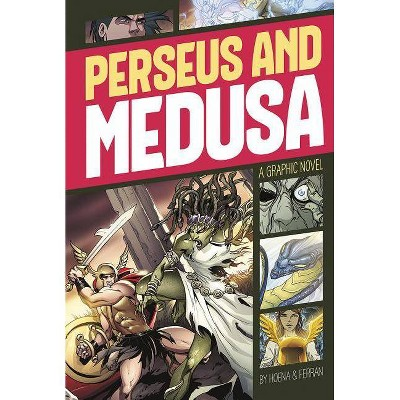 Perseus and Medusa - (Graphic Revolve: Common Core Editions) by  Blake A Hoena (Paperback)