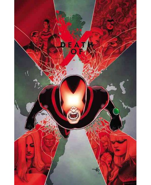 Death of X (Paperback) (Jeff Lemire & Charles Soule) - image 1 of 1