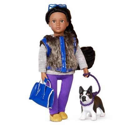 """Lori 6"""" Mini Doll & Dog Ilyssa & Indigo"""