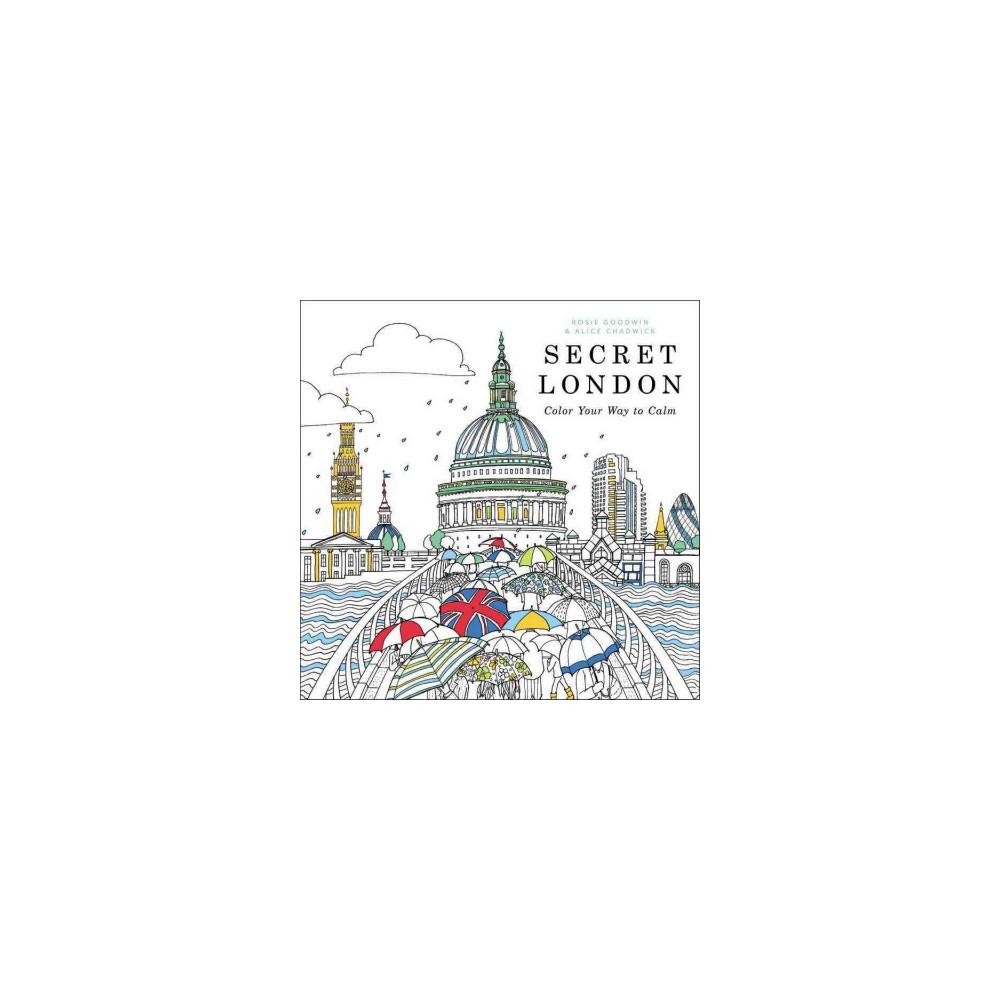 Secret London : Color Your Way to Calm (Paperback)