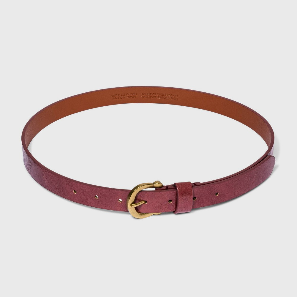 Women 39 S Horseshoe Belt Universal Thread 8482 Night Burgundy Xl