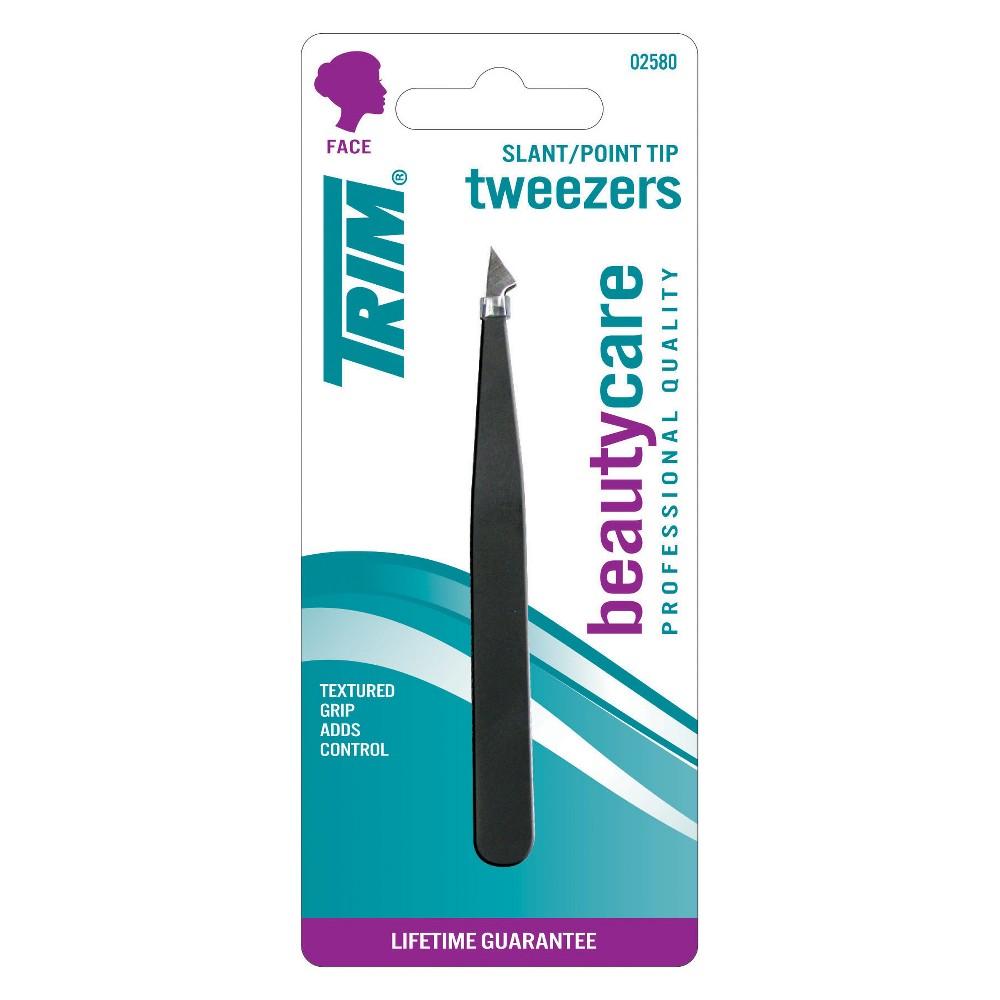 Trim Slant/Point Tip Tweezers
