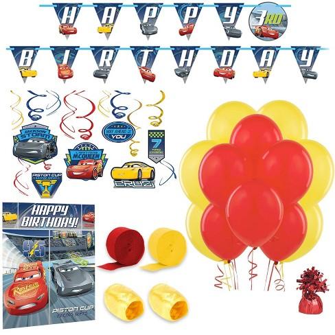 Disney Cars Room Decoration Kit Target