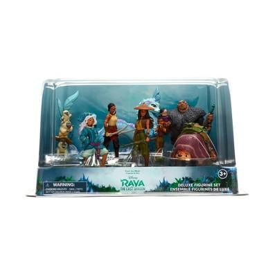 Disney Raya 8pc Deluxe Figurine Set - Disney store