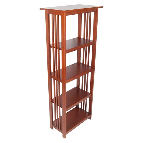 60 Bookshelf Hardwood Cherry