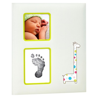 Pearhead Baby Book - Giraffe
