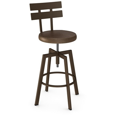 Knowlton Adjustable Barstool Steel - Amisco - image 1 of 2