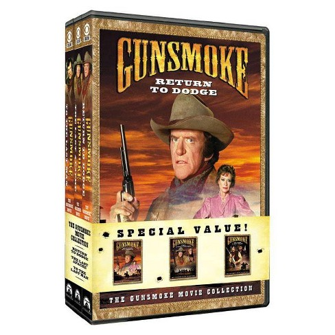 Gunsmoke Movie Collection (DVD)