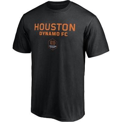 MLS Houston Dynamo Men's Short Sleeve Crew Neck Core T-Shirt