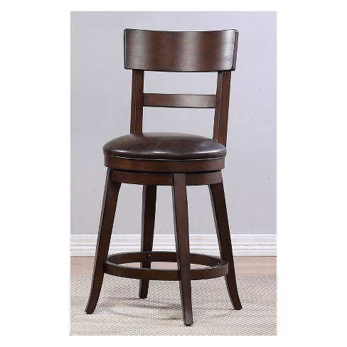 Alex Counter Height Swivel Stool - Foremost - image 1 of 8