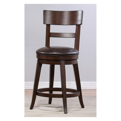 Alex Counter Height Swivel Stool   Foremost