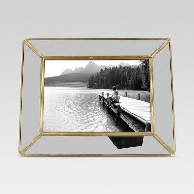 Single Image Frame 5X7 Brass - Threshold™