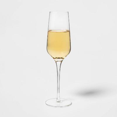 8oz 4pk Glass Champagne Glasses - Threshold™