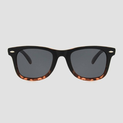 Women's Surf Plastic Sunglasses - A New Day™ Black