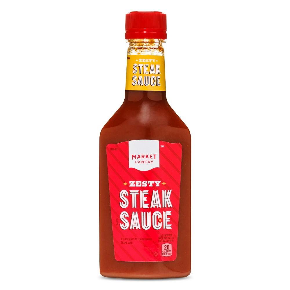 Zesty Steak Sauce - 10oz - Market Pantry