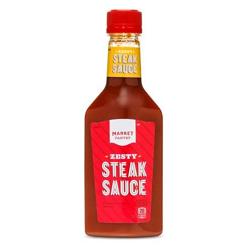 Zesty Steak Sauce 10oz Market Pantry Target