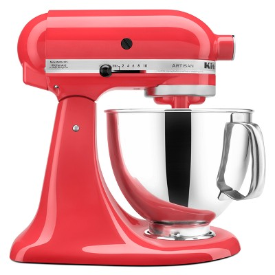 KitchenAid Refurbished Artisan Series Stand Mixer - Dark Pink RRK150WM