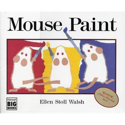 Mouse Paint - (Harcourt Brace Big Books) by  Ellen Stoll Walsh (Paperback)