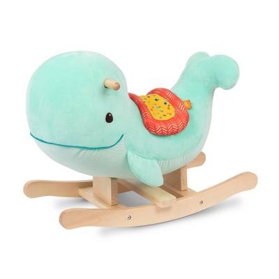 B. toys Wooden Whale Rocker Echo