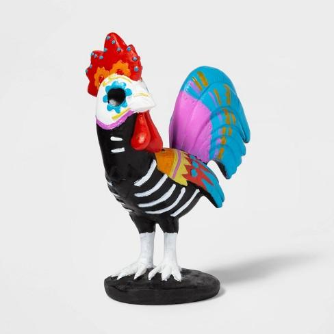 Da de Muertos Rooster Decorative Figure - image 1 of 2