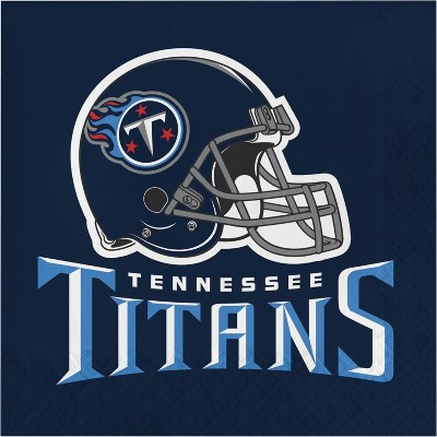 48ct Tennessee Titans Football Napkins
