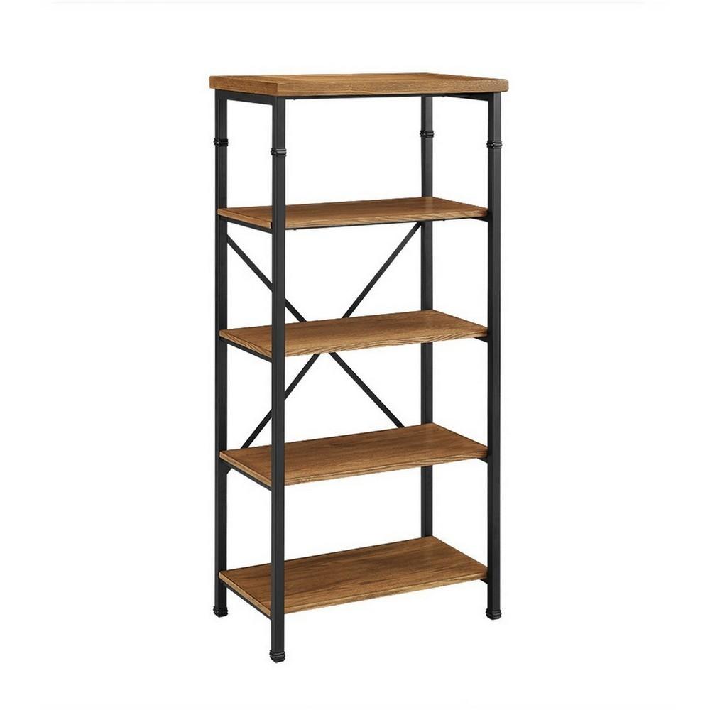 54 Austin Bookcase Brown - Linon