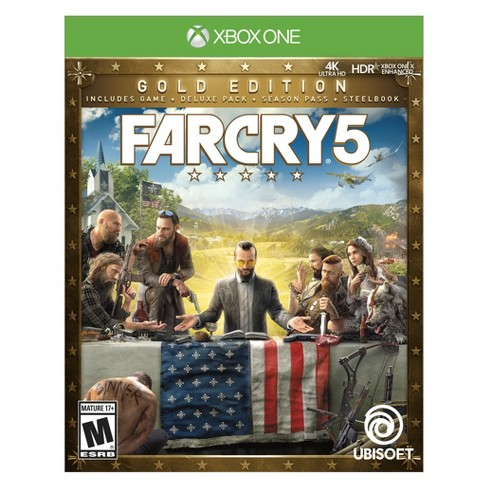 Far Cry 5 Steelbook GOLD Edition - Xbox One - image 1 of 5