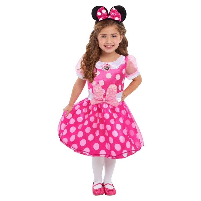 Disney Minnie Mouse Minnie Bowdazzling Dress - image 1 of 1