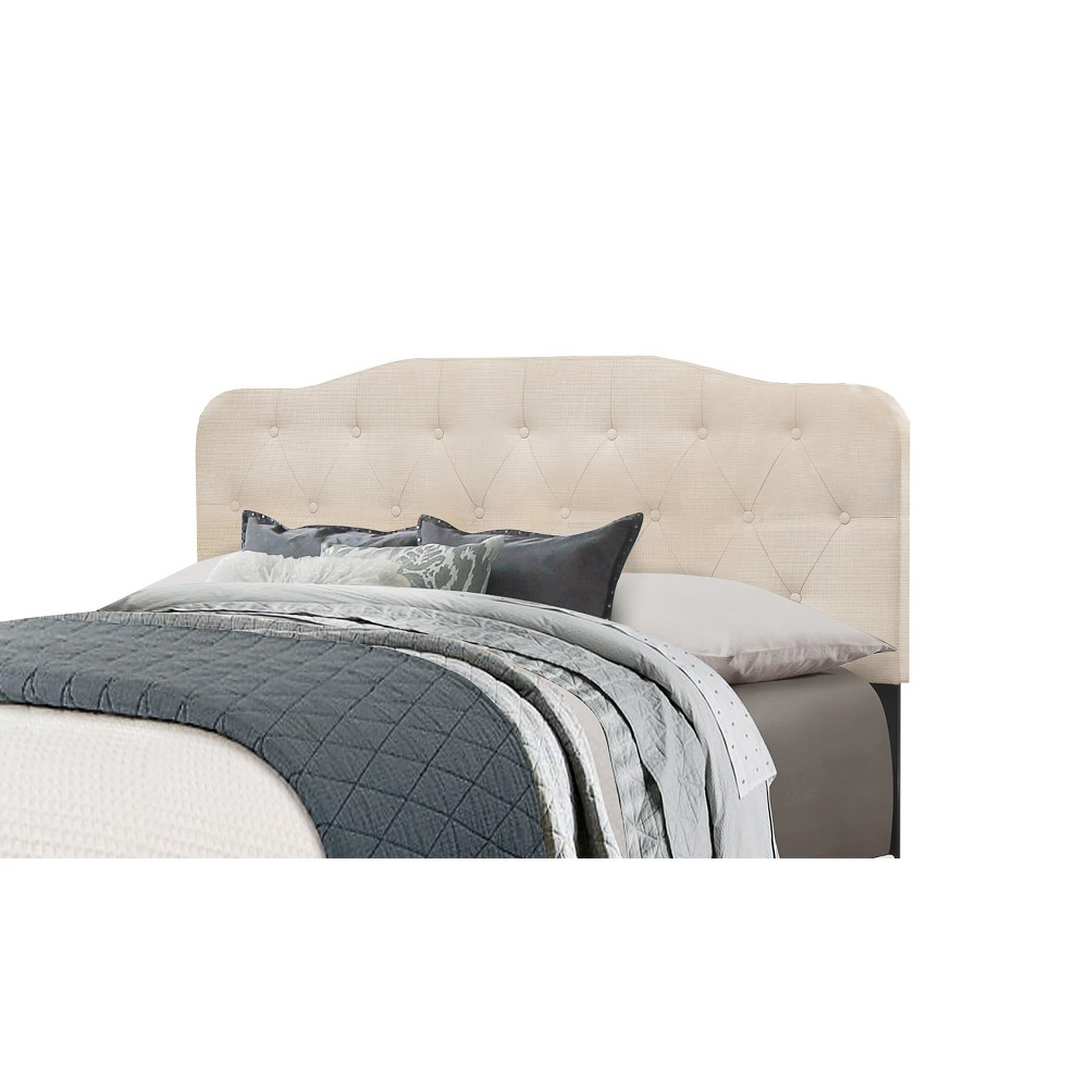 King Nicole Headboard Frame Included Linen - Hillsdale Furniture