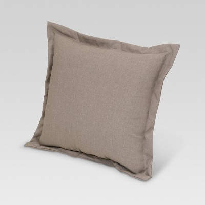 Outdoor Deep Seat Pillow Back Cushion Taupe - Threshold™
