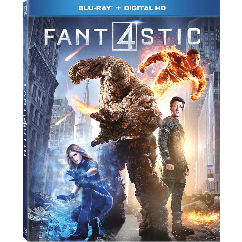 Fantastic Four (Blu-ray), Movies