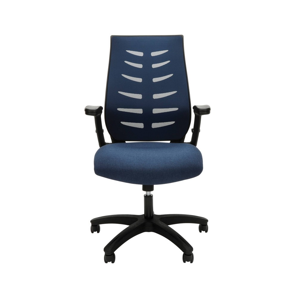 Core Collection Midback Mesh Office Chair For Computer Desk Blue - Ofm
