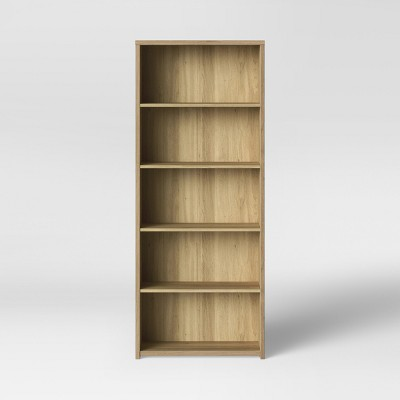 5 Shelf Bookcase Natural - Made By Design™