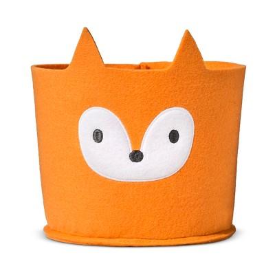 Felt Storage Bin Small Fox - Cloud Island™ - Orange