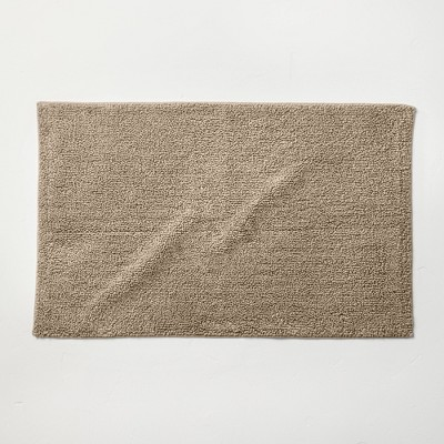 "21""x34"" Looped Bath Rug Dark Sand - Casaluna™"